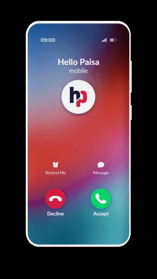 hellopaisa - receive a verification call