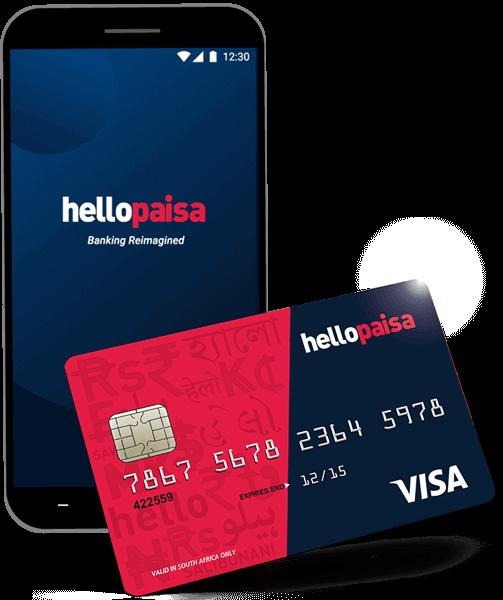 hellopaisa - Banking app and banking card